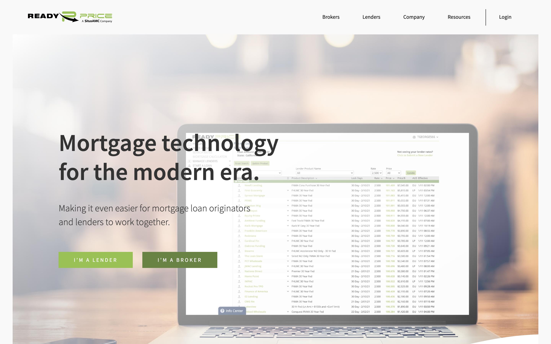 ReadyPrice Website